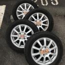 3〆切月末まで!Dunlopスタッドレスタイヤ アルミホイール付