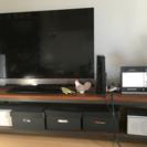 【テレビボード】テレビが置けるローボード
