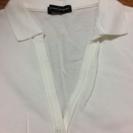 NEW YORK RUNWAY 白ポロシャツ