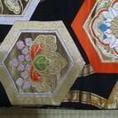 2000円引き!綺麗な図案の袋帯。正絹。刺繍。高級、美品。いま2...