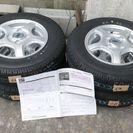 軽バン用、12インチ、145R12、LT新品未使用タイヤ、ホイー...