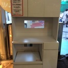 【期間限定・50%OFFセール】食器棚 白家具 中古
