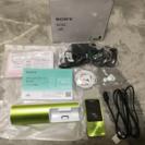 未使用☆SONYウォークマン NW-S14K 8GB スピーカー付属