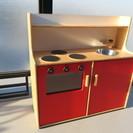 値下げ:木製ままごと(マリントラ流し台+オーブン/ニック社(ドイツ)