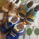 値下げ 子ども 靴 13.5cm ミキハウス ノースフェイス