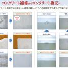 コンクリートリペア(特殊な技術でコンクリートを再生します) - 京都市