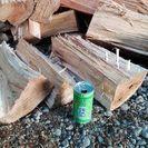 広葉樹ケヤキの未乾燥薪!長さ35㎝前後。0.1立米価格。平成29年...