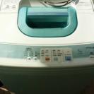 日立 洗濯機 差し上げます!の画像
