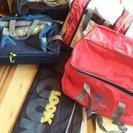 旅行バッグとスキーケースの6点セット