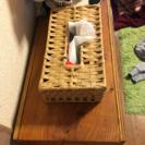 木製手作り棚、仕分けゴミ箱や収納棚として − 埼玉県