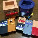 【中古】アンパンマン ブロックのおもちゃ