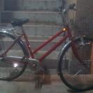 【交渉中】自転車 赤
