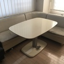 収納付きダイニングソファとテーブルセット