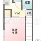仲介手数料無料 女性限定アパート『ツインハイツ2F』