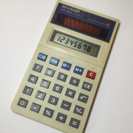 SHARP レトロ電卓
