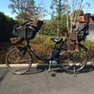 パナソニック26インチ 電動子供乗せ自転車