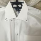 【中古】白カッターシャツ3