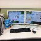 中古パソコン Windows7  office2010  ダブル...
