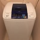 洗濯機 5キロ haier 値下げしました