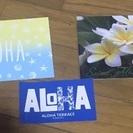 ハワイアン ポストカード&ステッカー