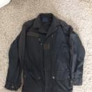 ミリタリージャケット、黒、メンズMサイズ