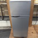 SHARP 118L 2ドア冷凍冷蔵庫 SJ-H12W