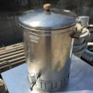 ステンレス蛇口付油容器 油器 厨房備品 廃油容器