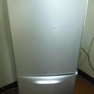 冷蔵庫 ナショナル製 NR-B142J-S