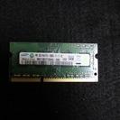 9/6【値下げ】SODIMM DDR3 PC3-12800 2G ...