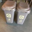 受付終了◆ゴミ箱 2つ 45L? 大きいです 新生活に。