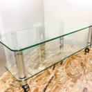 ガラス製 テレビボード LC030619