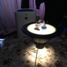 デザイナーズ家具 ライト付サイドテーブル