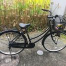 自転車(パンクしてます)