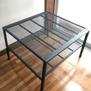 【値下げ】IKEA 棚 物置きテーブル の画像