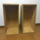 りんご箱 2箱