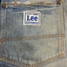 LeeのUSEDジーンズ