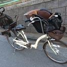 [交渉中] ● 子供乗せ自転車 3人乗り 3段変速 ●