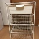 IKEA ワイヤーチェスト4段 イケア 収納