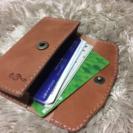 ⑤レザー カードケース作りませんか!