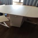 ダイニングテーブル 椅子4付き 既決の方に優先