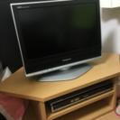 テレビ・DVDデッキ・テレビ台 3点セット