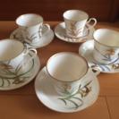 香蘭社 カップ&ソーサー と お皿