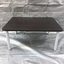 ローテーブル ミニテーブル ブラウン 木目調 シンプル