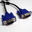 PCモニター接続用 VGAケーブル(D-Sub15ピン)