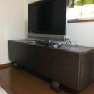 北欧系 テレビボード テレビ台 ダークブラウン 木製