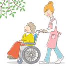 要介護の利用者宅を訪問します。