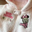 80センチ モコモコアウター ミニー Disney