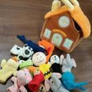 (お取引中)アニマルハウス 指人形 布製 川西市