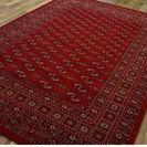 【値下げ】高級ウィルトン織り絨毯、ボハラ柄 超美品 使用僅か