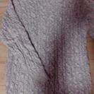 グレーのセーター